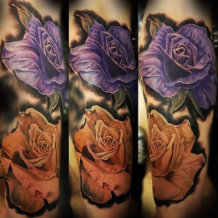 Tattoos - Realistic Rose piece - 94493