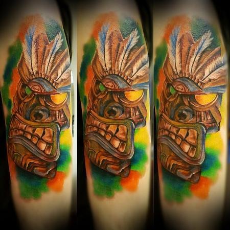 Tattoos - Tiki mask - 94495