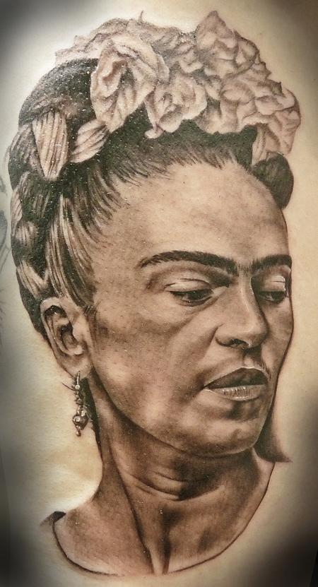 Tattoos - Portrait of Frida Kahlo - 94505