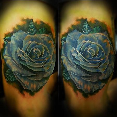 Tattoos - Blue Rose - 94507