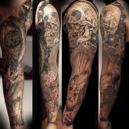 Tattoos - Full sleeve - 95548