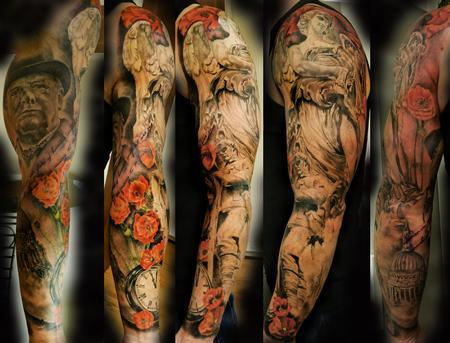 Tattoos - War memorial sleeve - 94770