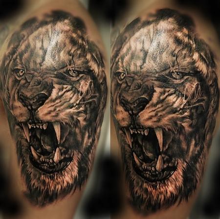 Tattoos - Lion tattoo - 94772