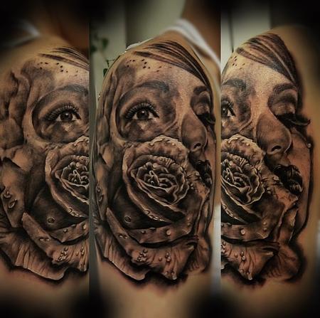 Tattoos - Start of Vintage Sleeve - 94774