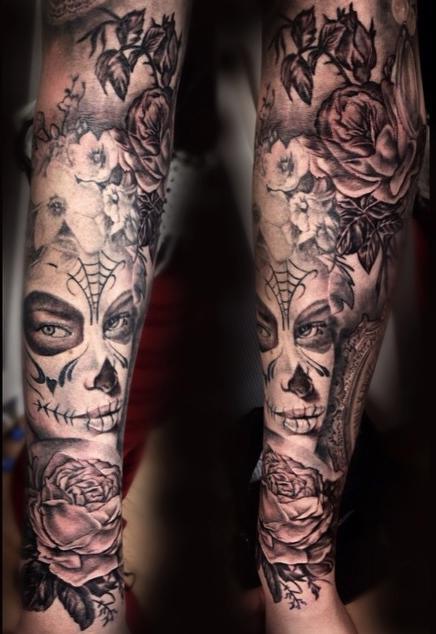 Tattoos - Vintage themed sleeve - 95939