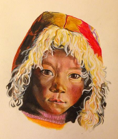 Rakhee Shah - Tibetean Nomad