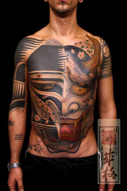 Tattoos - Hannya Mask Tattoo - 60539