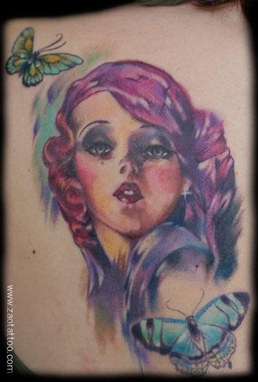 Muriel Zao - 20s Pinup Tattoo