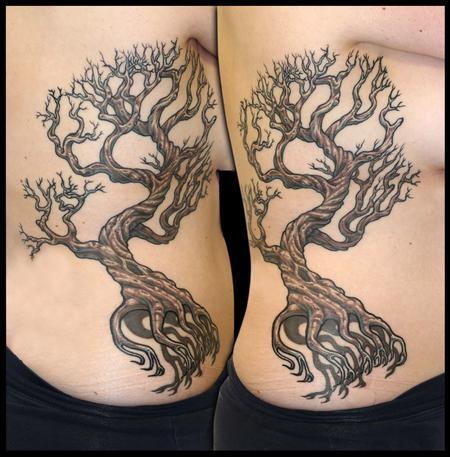 Tattoos - Floating Old Tree - 79373