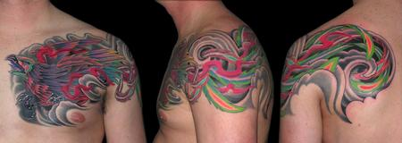 Tattoos - Phoenix Cover up - 79361