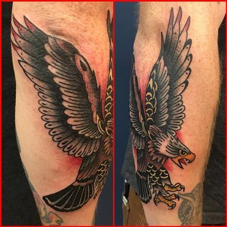 Tattoos - Traditional Eagle Tattoo - 129034