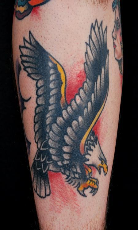 Tattoos - Sailor Jerry Eagle Tattoo - 84289