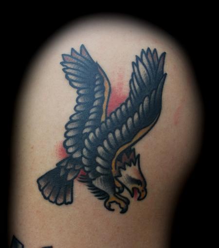 Tattoos - Sailor Jerry Screaming Eagle Tattoo - 76707