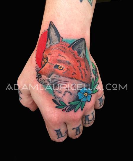 Tattoos - Fox Head Tattoo - 101954