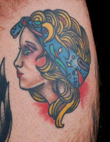 Tattoos - Gypsy Girl Tattoo - 84288