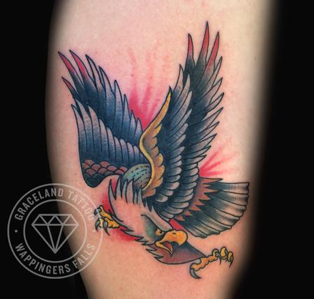 Tattoos - Screaming Eagle Tattoo - 104376