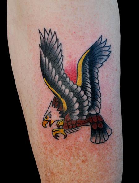 Tattoos - Traditional Eagle Tattoo - 91287