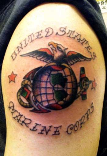 Alex Sherker - USMC Globe and Anchor