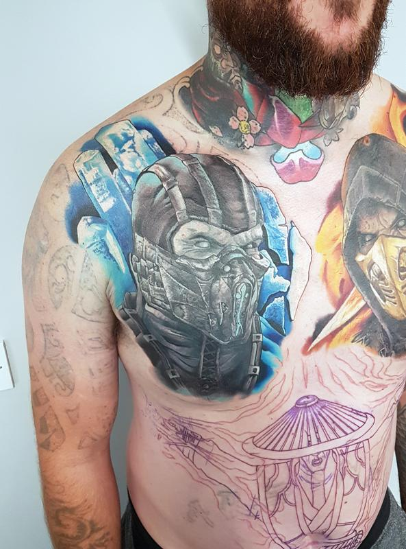 Sub Zero Cover Up By Alan Aldred Tattoonow