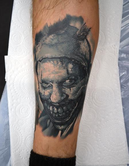 Tattoos - Twisty American Horror Story Portrait - 130201