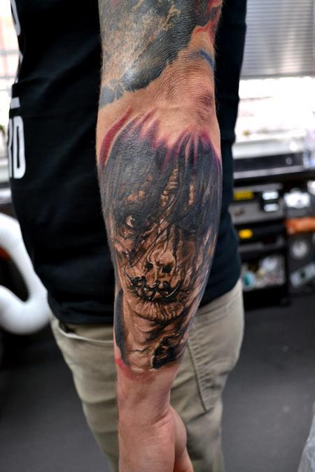 Tattoos - Billy Hocus Pocus Portrait Tattoo - 129829
