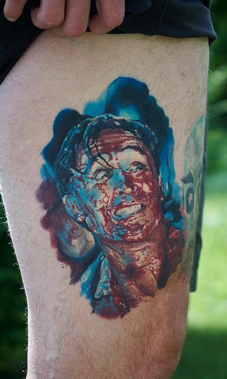 Tattoos - Healed DeadAlive / Braindead Portrait - 119910