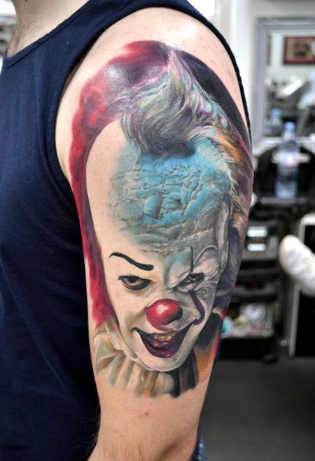 Tattoos - Pennywise Morph Portrait - 132838