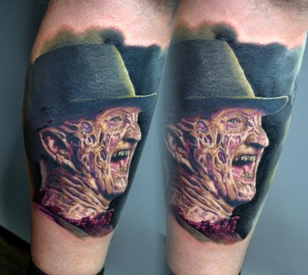 Tattoos - Finished Freddy Krueger - 142689