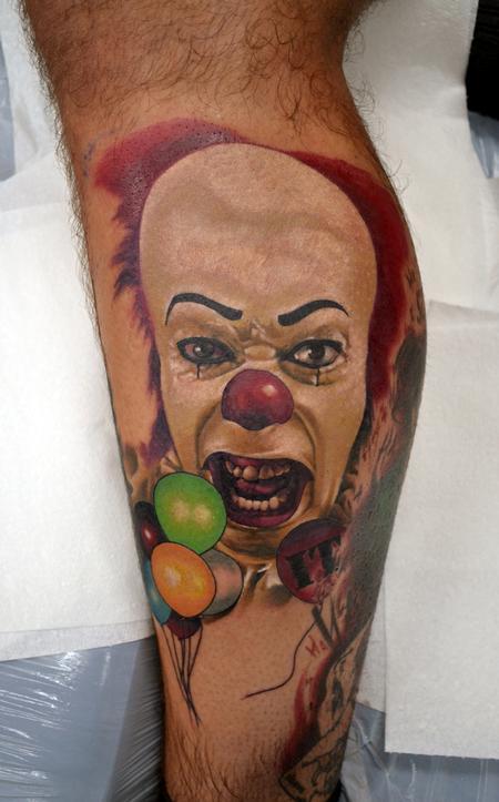 Tattoos - WIP IT Portrait - 130088