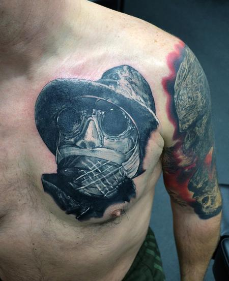 Tattoos - Invisible Man Portrait Tattoo - 123359