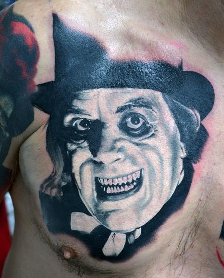 Tattoos - Lon Chaney London After Midnight Portrait - 123553