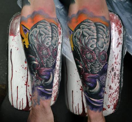Tattoos - Metaluna Mutant / This Island Earth Tattoo - 113839