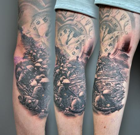 Tattoos - World War 1 Rememberance Tattoo - 138524