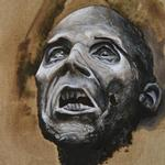 Tattoos - Zombie Oil Painting. - 123472
