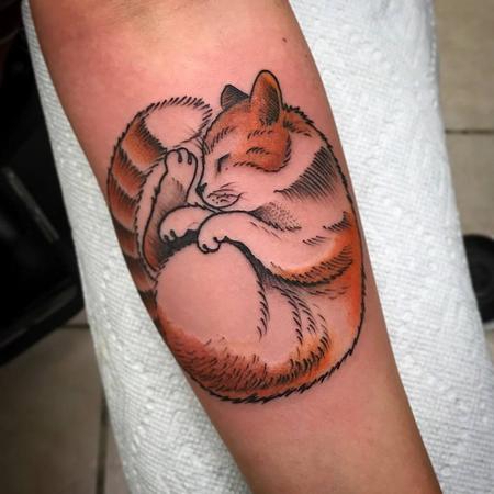 Tattoos - Kitty - 128586