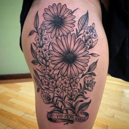 Tattoos - Flower power - 128588