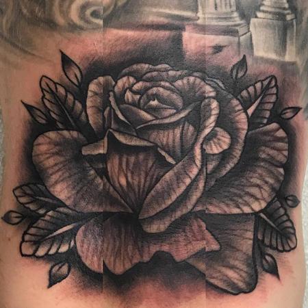Tattoos - Rose - 128578