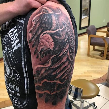 Tattoos - Eagle - 128579