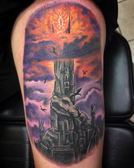 Tattoos - The Dark Tower (Barad Dur) - 125133