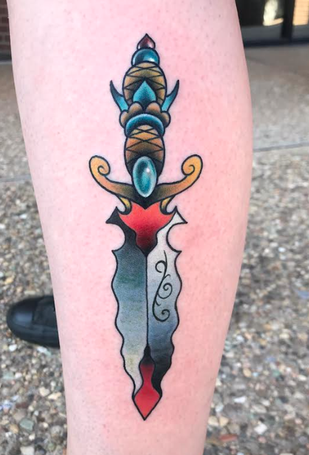 Tattoos - Dagger - 142110