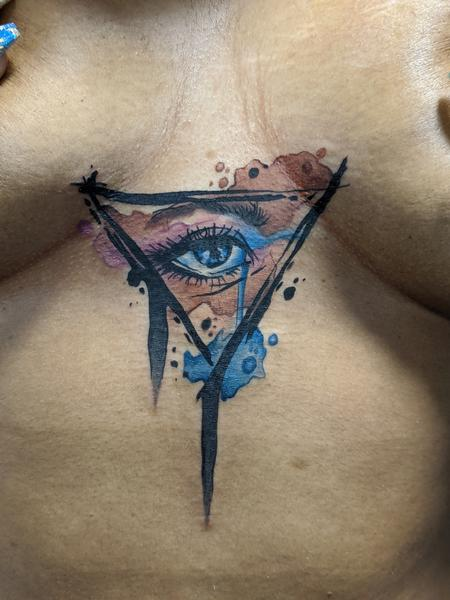 Tattoos - Watercolor eye - 142075