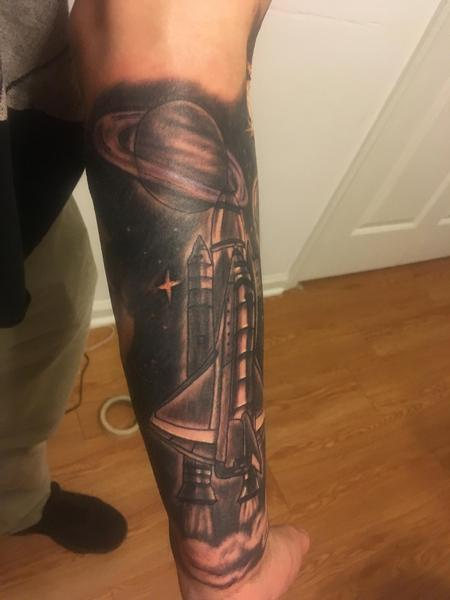 Tattoos - Space shuttle  - 139809