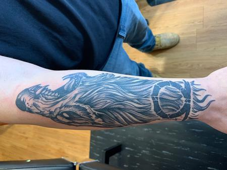 Tattoos - Wolf - 142065