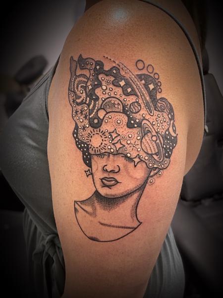 Tattoos - Galaxy Woman - 143066