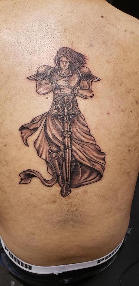 Tattoos - Guardian angel tattoo - 140510