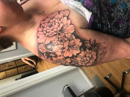 Tattoos - Flowers - 141555