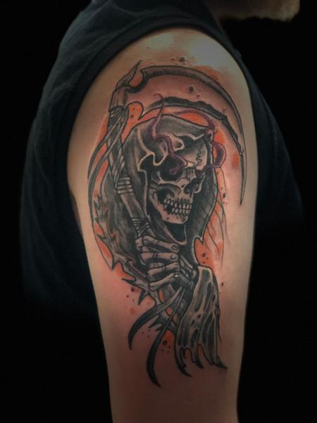 Tattoos - Reaper - 141825
