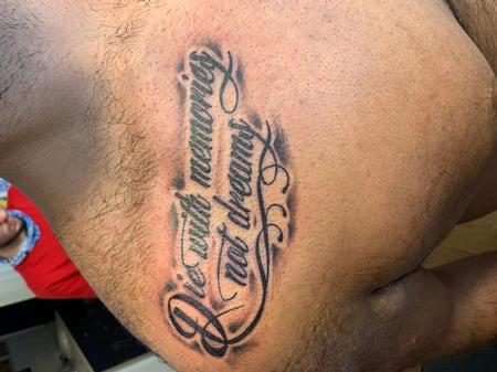 Tattoos - Script - 142058