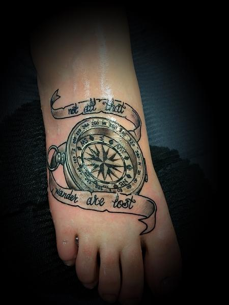 Tattoos - Compass - 139404