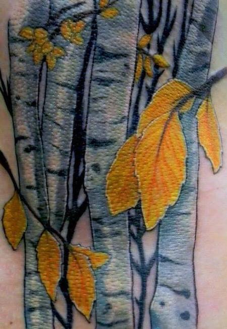Tattoos - Aspen Trees - 140949